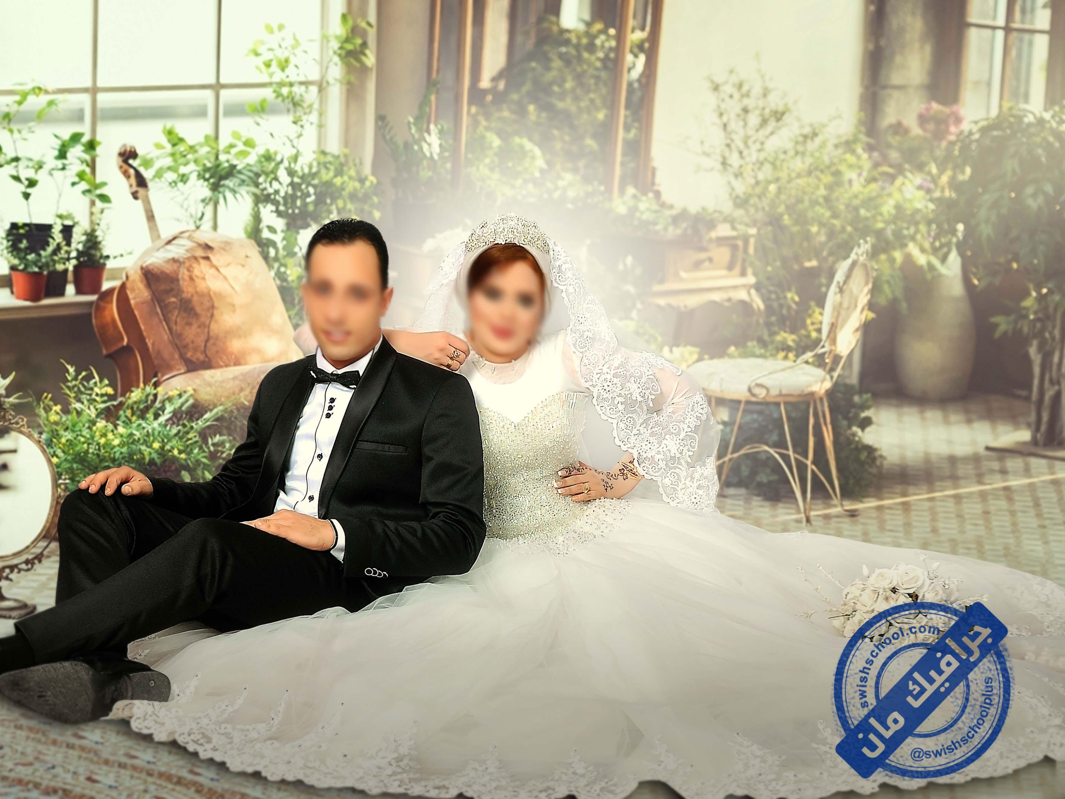 Romantic wedding designs 2 خلفيات عرايس رومانسيه psd للزفاف الجزء الاول