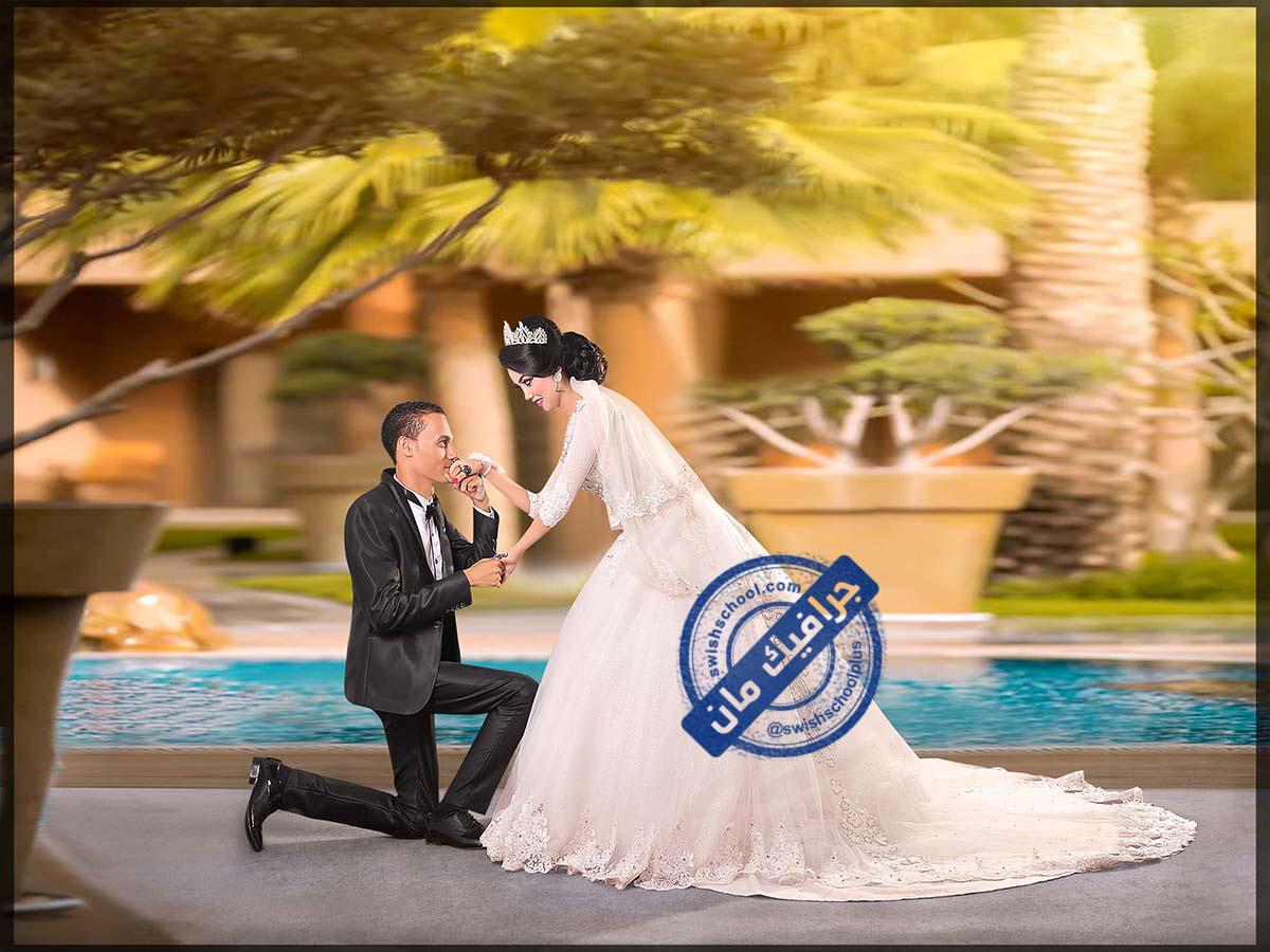 Romantic wedding designs 6 خلفيات عرايس رومانسيه psd للزفاف الجزء الاول