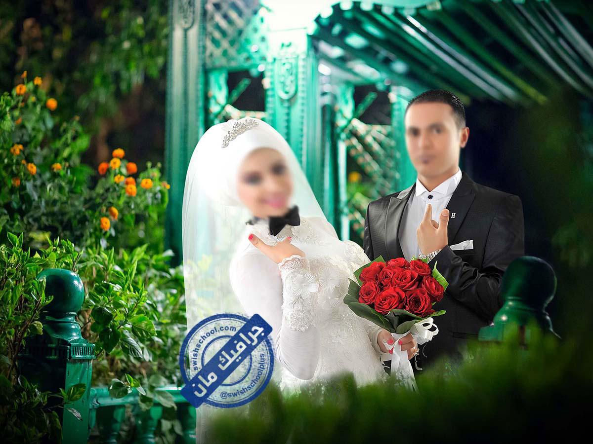 Romantic wedding designs 7 خلفيات عرايس رومانسيه psd للزفاف الجزء الاول