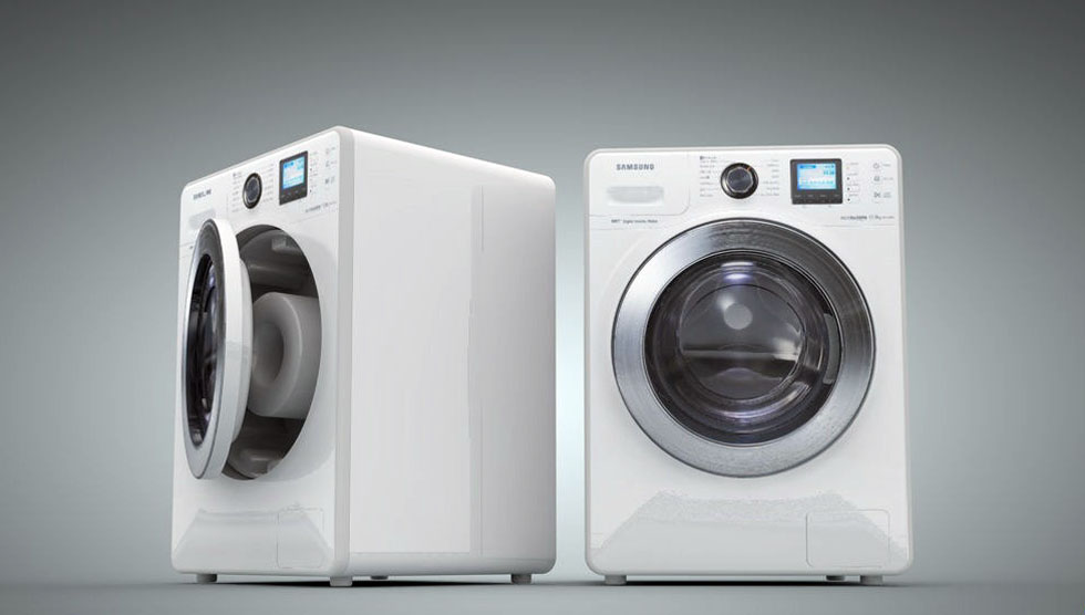 Wash Machine 3D Model موديل غساله سينما فور دي c4d
